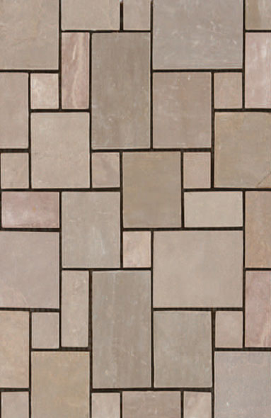 Autumn Brown Mosaic
