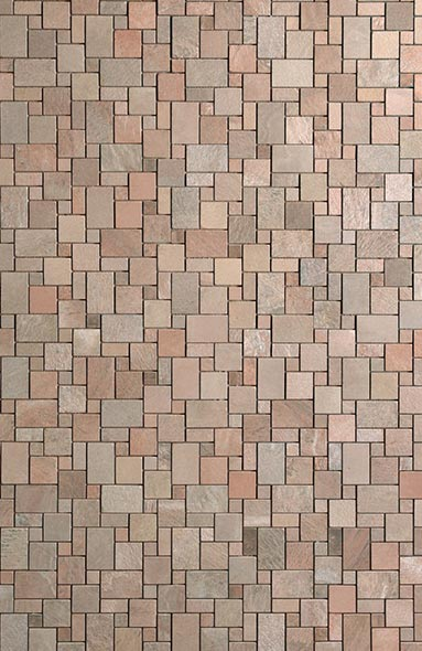 Copper Polished Mosaic