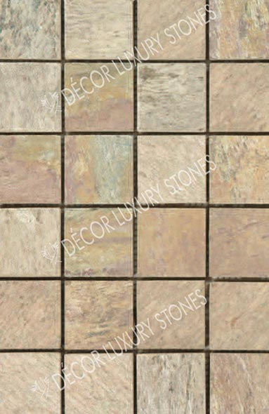 golden-quartzite-mosaic-square-pattern