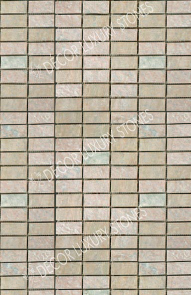 golden-quartzite-mosaic-standing-brick