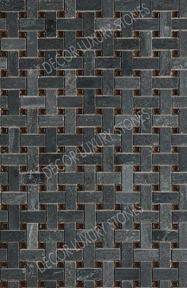 green-wash-black-quartzite-mosaic-single-sheet-pattern