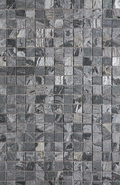 Silver Grey Polished Mosaic