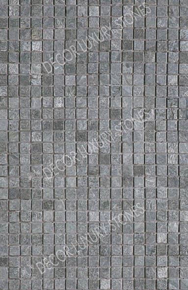 silver-grey-quartzite-mosaic-square-pattern