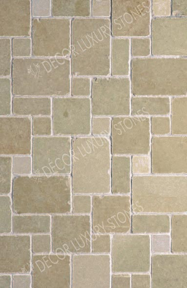 yellow-brown-lime-honed-antique-mosaic